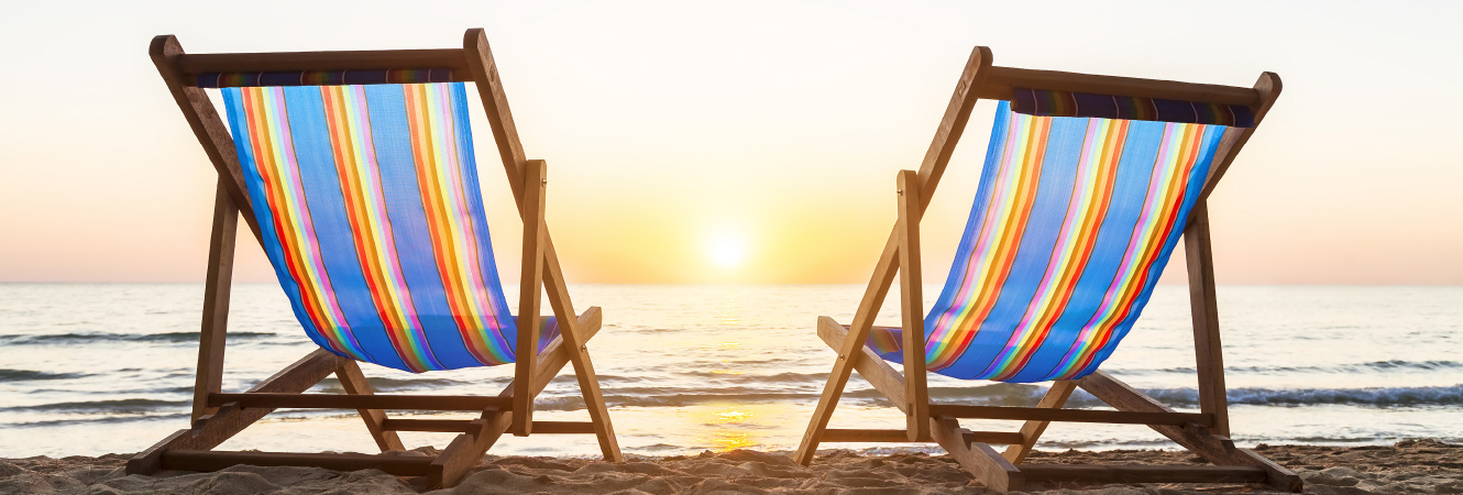 Beach Chairs and Ocean Header Image