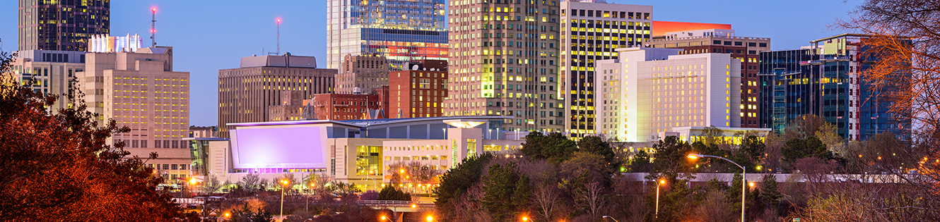 Raleigh skyline header image