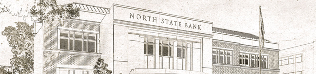 North State Bank building drawing
